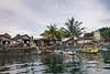 Villagers waiting to greet us at the dock, Krui, West Lampung, Sumatra