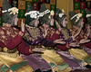 Tari-Saman-traditional-dance-performed-at-welcoming-ceremony,-Lhokseumawa,-Aceh-Province