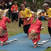Minangkabau dancers performing egg dance, Cupek, West Sumatra