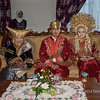 Minangkabau wedding group in traditional dress, Cupek, West Sumatra