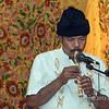 Minangkabau flute player, Cupek, West Sumatra
