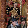Minankabau bride, groom and dignitaries, Solok, West Sumatra