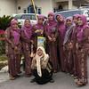 Minangkabau matrons clearly enjoying themselves at wedding festivities in Cupek, West Sumatra