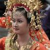 Portrait of a wedding guest, Solok, West Sumatra