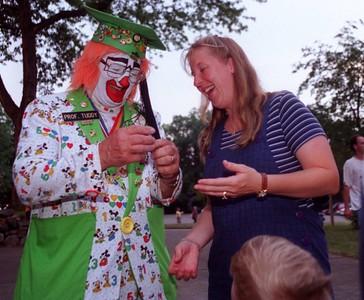 Kids Concert Oxford, clowning