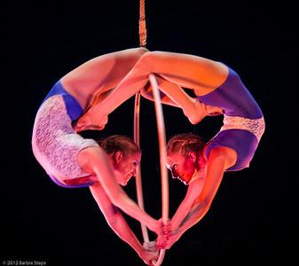 Aerial Mirror  - Stephanie & Valerie