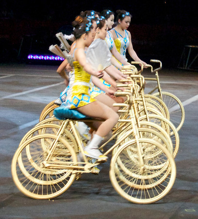 From The People's Republic Of China Jinan Bicycle Gymnasts