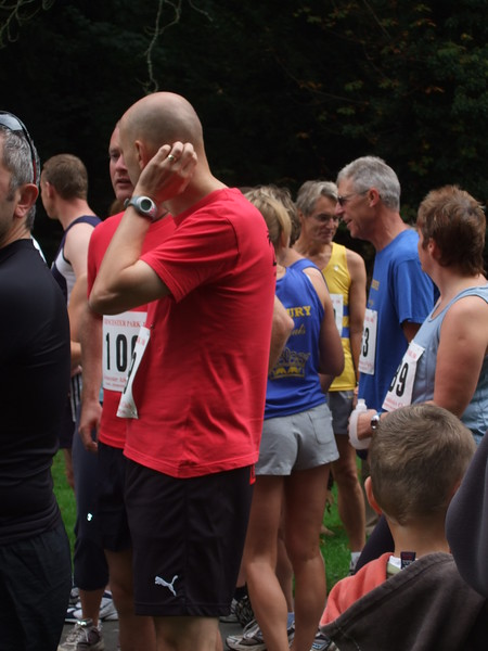 Buckie at the start