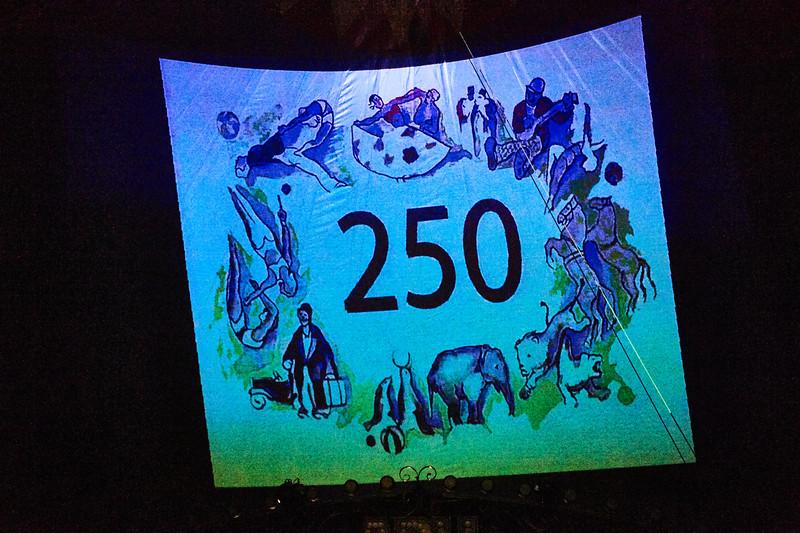 Arli fejrer cirkus' 250 års fødselsdag med maner