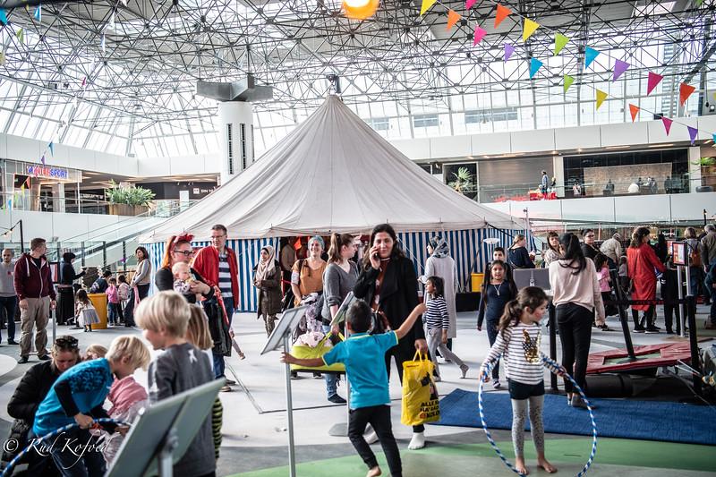 Cirkus legeplads for børn