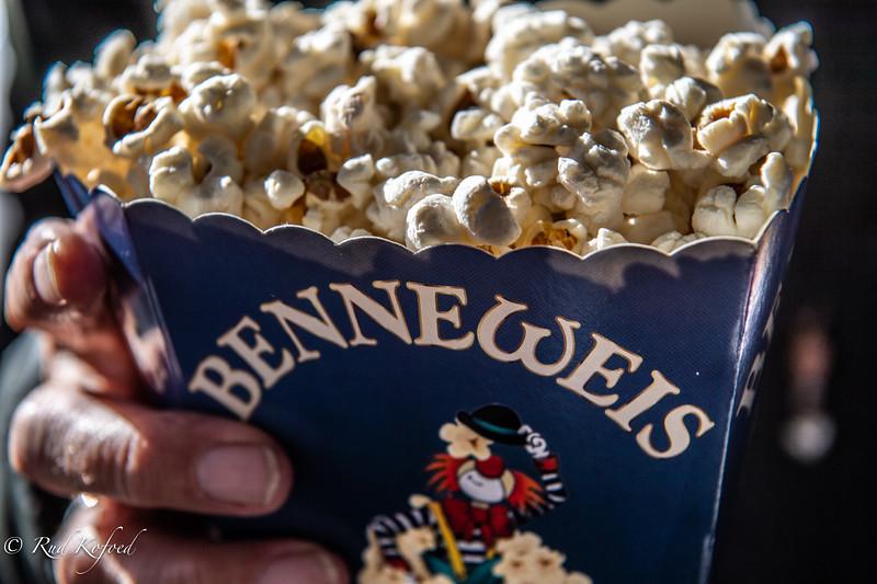 Popcorn og cirkus er en sikker succes-kombination