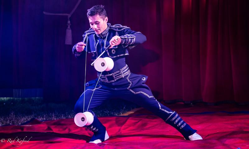 Husik har jonglerer med mange forskellige discipliner og er nu faldet for de krævende 'djæle'