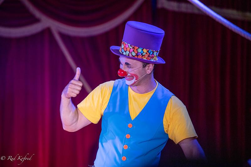 Den ukrainske Gulio kom til Danmark i 2003 og har siden været en vigtig del af Cirkus Mascot sammen med sin familie