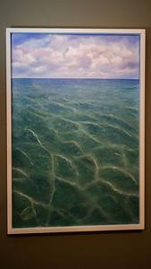 """Tropical Ocean ...Oil on canvas 24x36"""""""
