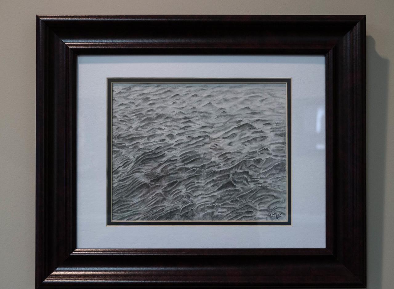 Ocean ...Pencil