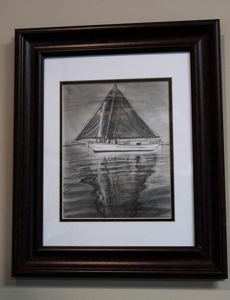 Sailboat ...Pencil
