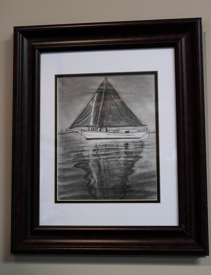 Sailboat ...Pencil
