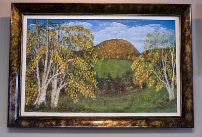 "Sugarloaf Fall ...30x40"" Oil on board"