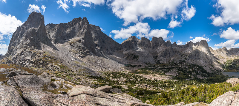Cirque Of The Towers, Panoramic.