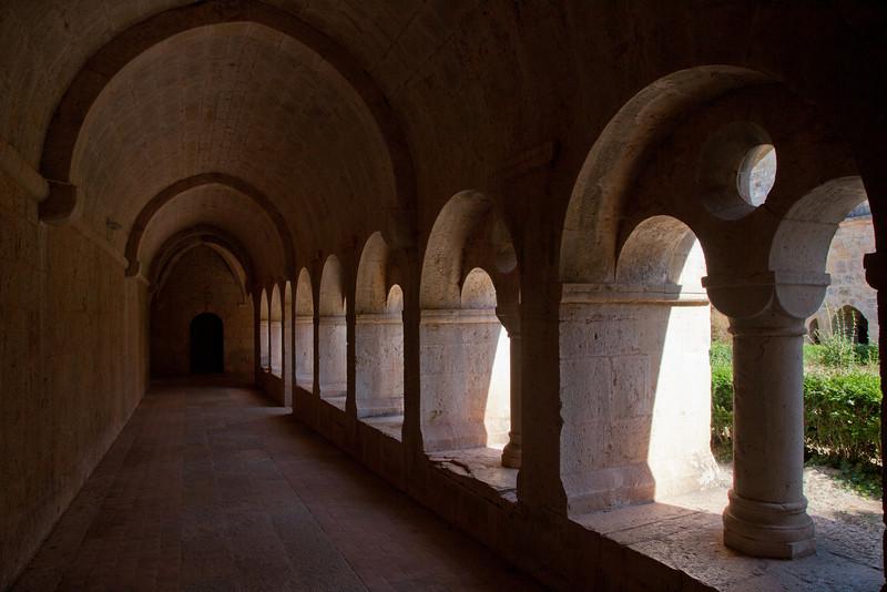 Le Thoronet Abbey Cloister Aisle