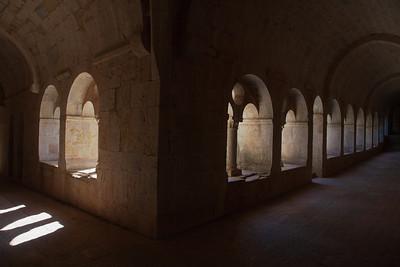 Le Thoronet Abbey Cloister Aisles
