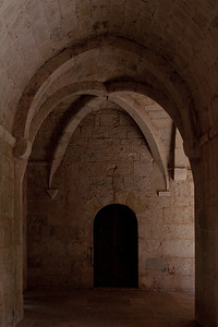 Le Thoronet Abbey Cloister Aisle Vault