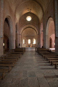 Le Thoronet Abbey - Nave and Apse