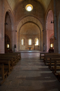 Le Thoronet Abbey Nave and Apse