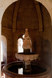 Le Thoronet Abbey Cloister Fountain