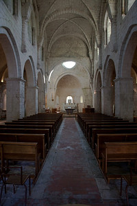Leoncel Abbey Nave and Apse