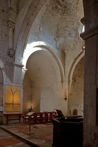 Leoncel Abbey Side Chapel