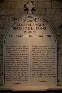 Leoncel Abbey Great War Memorial