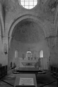 Leoncel Abbey Apse