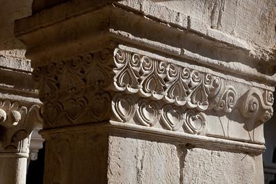 Sénanque, Notre- Dame Abbey Cloister Capital