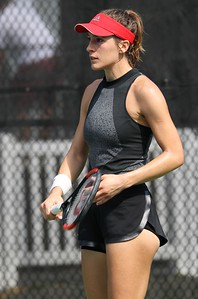 Andrea Petkovic in Black Adidas