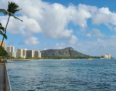 Diamond Head on Oahu