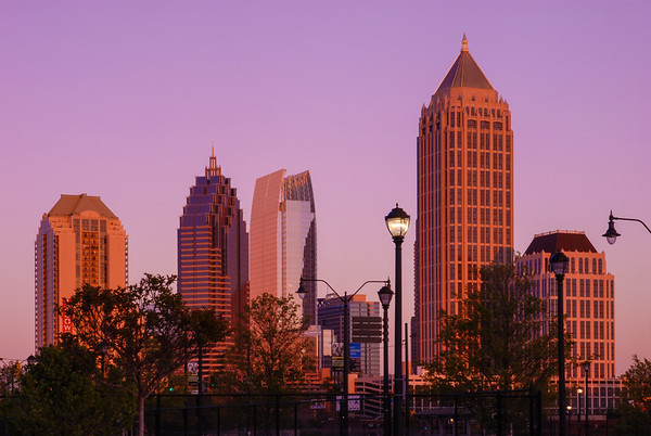Evening's Magic  |  Midtown Atlanta.
