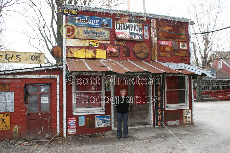 "Clifton Mill, Ohio - Home of famed football coach, Wayne Woodrow ""Woody"" Hayes"