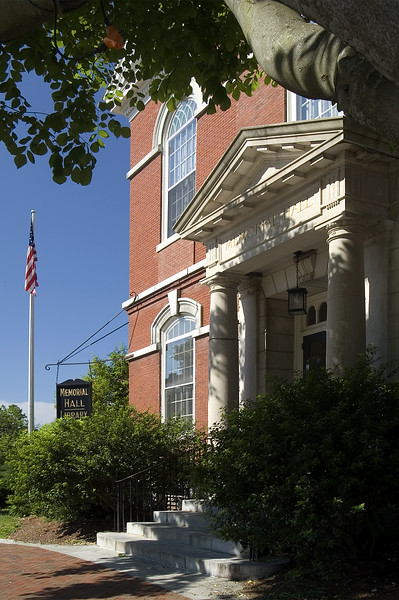 Memorial Hall - Library