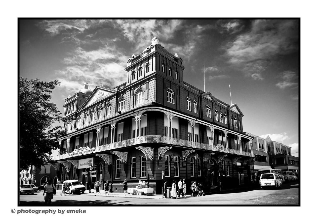 Bank Building located in Bridgetown