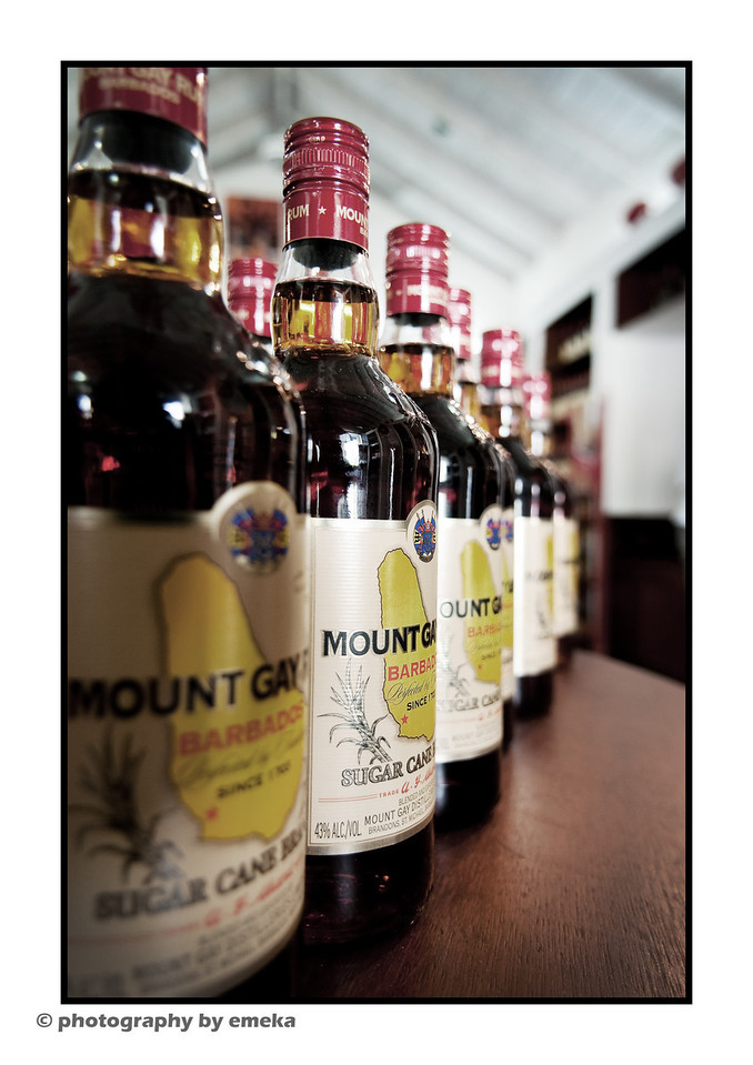 Mount Gay, Barbados' favorite Rum...don't forget to get the Extra Old