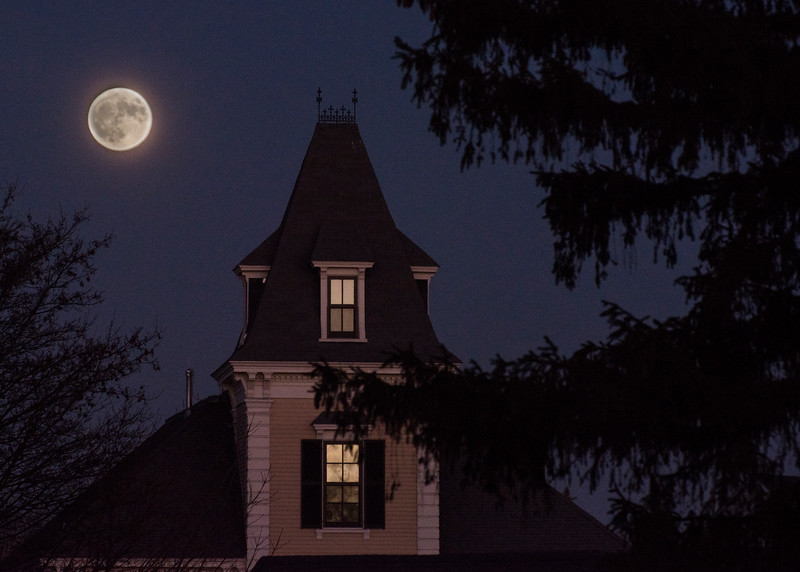 Super Moon Evening