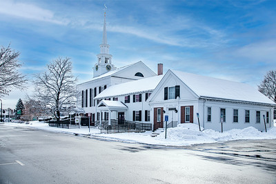 First Congregational Church - rear view.