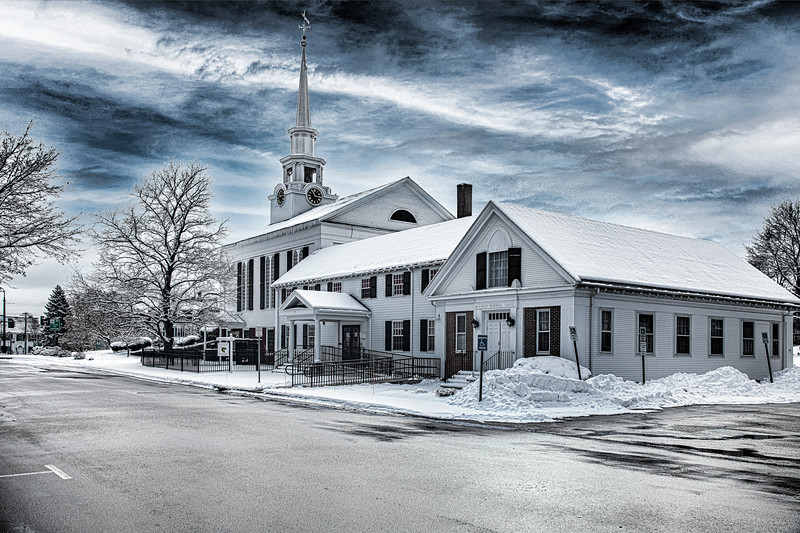 First  Congregational (rear View)