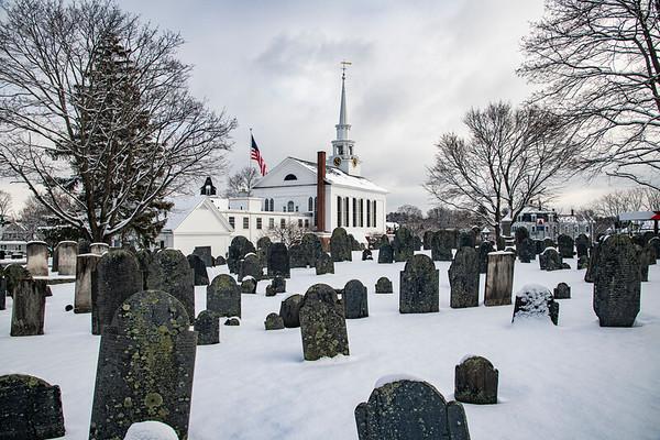 Church side graveyard