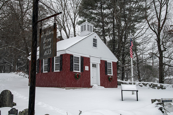 Let it Snow III - on the Old School House