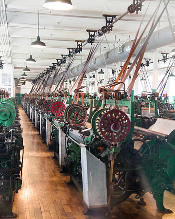 Looms at the Boot Cotton Mill