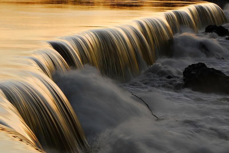 Golden Falls of the Merrimack