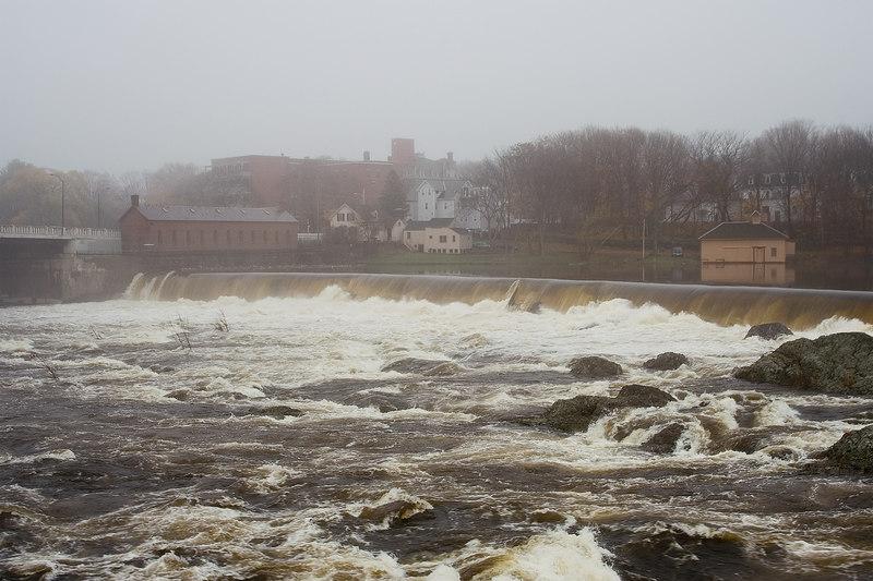Merrimack River Raging Water