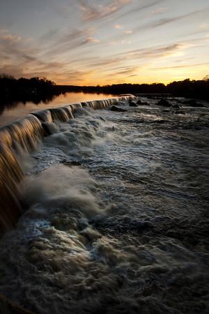 Evening Falls -  Vertical